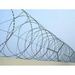 Concertina Wire Fence