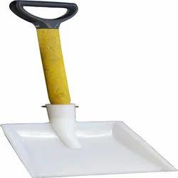 GOKUL PP Showel For Chemical Powder, 1 PICE, Size/Dimension: 12 - 9