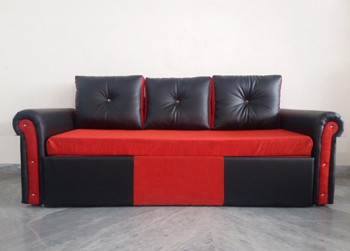 Red And Black Sofa Cum Bed At Rs 18000 Piece Sofa Bed Id