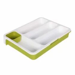 Cutlery Storage Drawer Tray