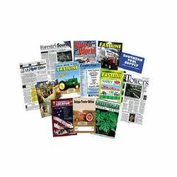 Offset Magazine Printing, Print Size: A4
