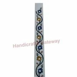 Indian Marble Inlay Border Tiles