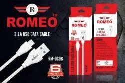 ROMEO White USB Data Cable