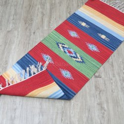 Handwoven Cotton Killim Rug Yoga Mats Runner Carpets