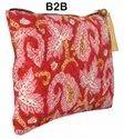 10 Cotton Hand Printed Clutch Bags Wristlets India B2B