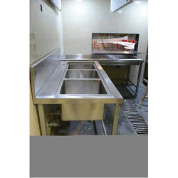 Triple Unit Kitchen Sink
