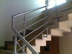 Round Baluster Handrail