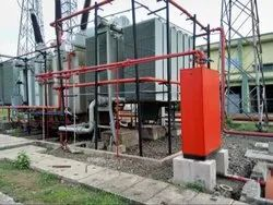 Fire Fighting System Design for EHV Substations