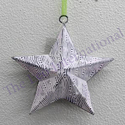 New Design Christmas Decoration Hanging Star