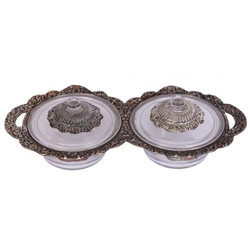 Designer Double Bowl Set