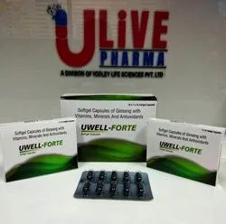 multivitamins Uwell - Forte, YODLEY LIFE SCIENCES PVT LTD, Packaging Size: 10x1x10