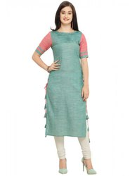 Ladies Stylish Khadi Kurti