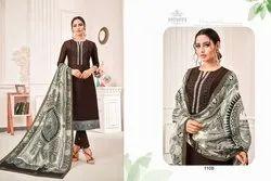 Samaira Abhinandan Vol 3 Jam Silk Work Dress Materials