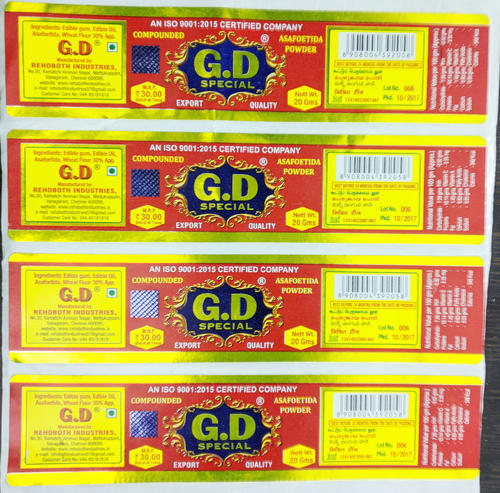 UV Printed Stickers - Silver UV Printing Labels Manufacturer