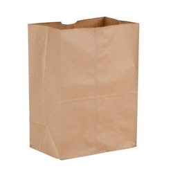 Brown Kraft Paper Grocery Bag