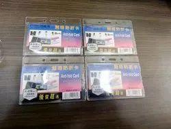 KS-810 Acrylic Anti-Fold Card Holder