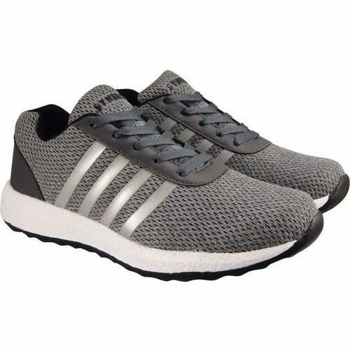 Mens Action Grey Sports Shoes, Size: 6