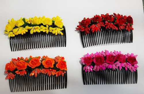 Artificial Flower Hair Comb, for Personal