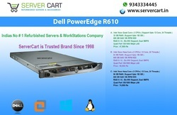 Dell PowerEdge R610 Server, Intel Xeon Quad Core - 2CPU's , Upto 192GB RAM  VMware ESXi 6 5