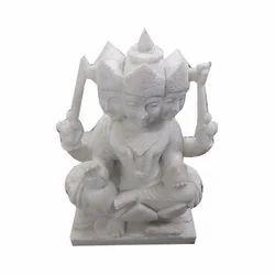 Marble Kartik Ji Statue