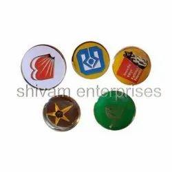 Bank Magnetic Badge