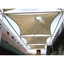 Tensile Fabric Atrium Roof