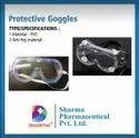 Fiber White Protective Goggles