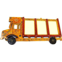Wooden Truck Photo Frame