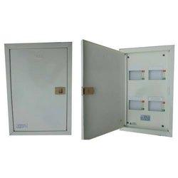 Mild Steel 4 Way Tpn Double Door MCB Box for Electric Fittings