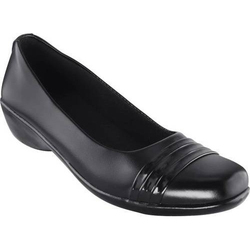 Slip-On Ladies Leather Formal Shoes