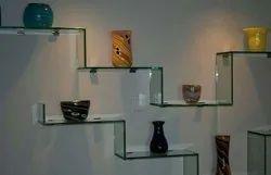 White Glass Shelf