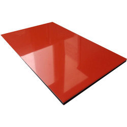 Red Aluminium Composite Panels