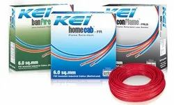 Color: Red KEI House Wire, 90m, 2.5 Sqmm