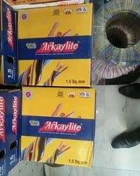 Copper Arkaylite Wire, For House Wiring