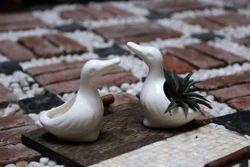 Duck Ceramic Planter