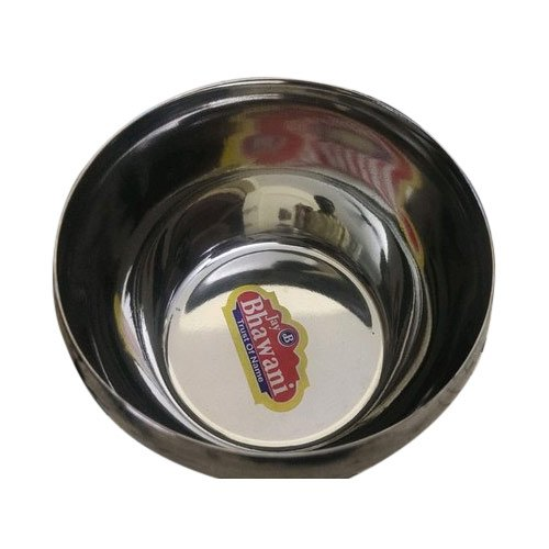 Round Serving Bowl Plain Stainless Steel Bowls