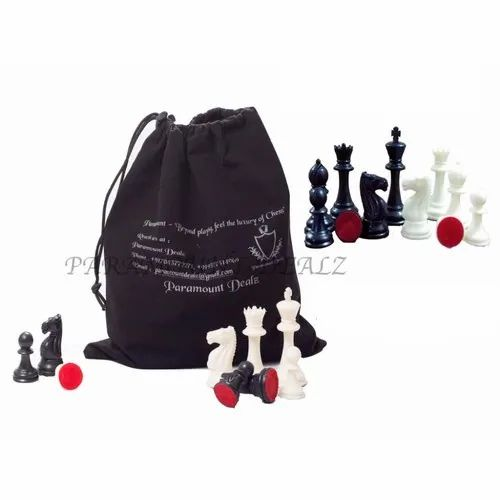 Tournament Chess Plastic Filled Coins