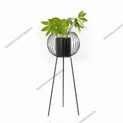 Wrought Iron Planters