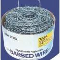 Galvanized Iron Tata Barbed Wire, For Fencing