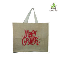Jute Tesco Style Shopping Bag