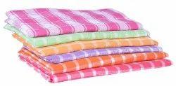 Muilti Color Cotton Checks Towel, Size: 30*60 inch