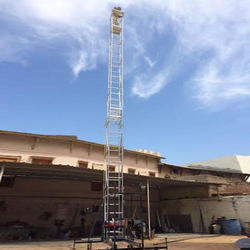 Aluminum Tilting Tower Ladder