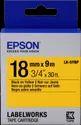 Epson LK-5YBP Tape
