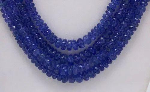 Natural Tanzanite Tanzanite Baby Blue Color Size 3.5-4.5mm GW162 16 Strand Tanzanite Transparent Tanzanite Faceted Rondelle Beads