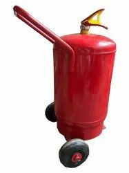 Fireoxine Mild Steel Trolley Mounted Dry Chemical Powder Fire Extinguisher