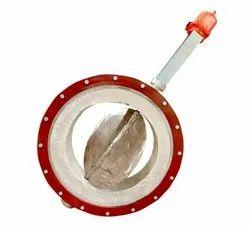 Refractory Lining / Exhaust Damper