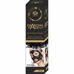 Charcoal Peel Off Mask, For Personal, Packaging Size: 70 Ml