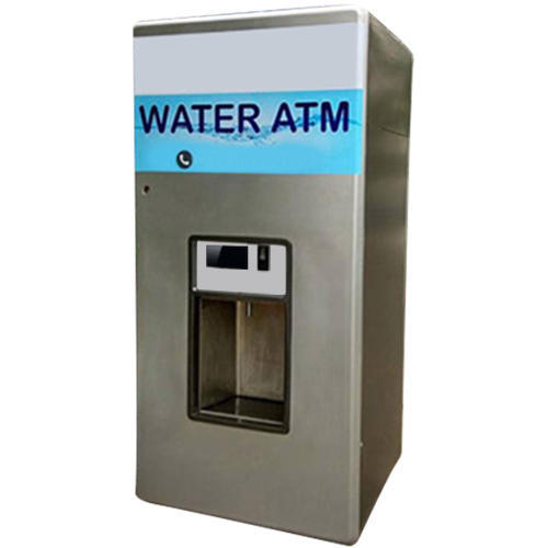 Silver Stainless Steel Mobile Water Atm