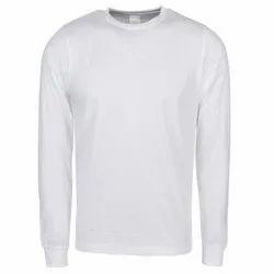 Mens Round Neck Full Sleeve T-Shirt