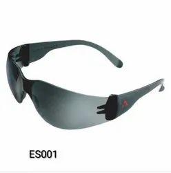 Polycarbonate Black Karam Es 001 Safety Goggles, Size: Free